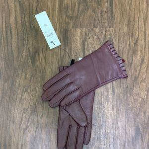 Ann Taylor leather gloves